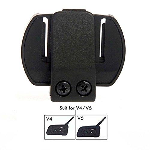Clips Zubehör für neue V6/V4 Motorrad Helm Bluetooth Interphone Motorrad Intercom Halterung Clip Mount für Helm Headset (Für Bluetooth Clip)