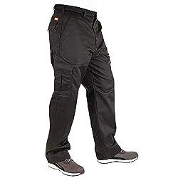 Lee Cooper LCPNT205 205 Cargo Pant, schwarz (Schwarz), 36L