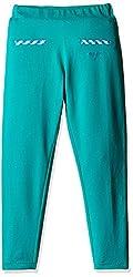 US Polo Association Girls Pyjama (UGKP5056_Dk. Green_6 - 7 years)