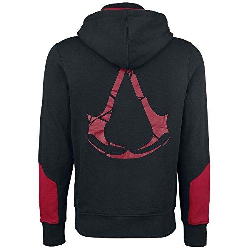 Assassins Creed Hoodie Rogue Größe XXL Kapuzenjacke Assassin's Creed Kapuzenpullover Zip Jacket 2XL Abbildung 2