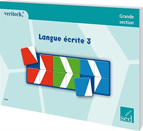 Langue écrite 3 Grande section : Fichier Véritech 24 fiches