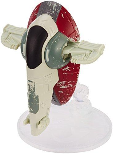 Hot Wheels – Star Wars – Starships – Boba Fett's Slave 1 – Véhicule Miniature Die Cast
