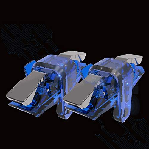 er, CHshe 1 Paar Gamecontroller Sensitive Schießen Und Ziel Schlüssel L1R1 Shooter Trigger Für Pubg/Knives Out/Überlebensregeln, Unterstützung Android & Ios Smartphone ()