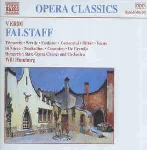 Verdi: Falstaff (Gesamtaufnahme)