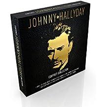 COFFRET collector JOHNNY en EDITION très LIMITEE : 2DVD + album 33 tours vinyle 12 chansons + 5 CD + porte-clef + 6 dessous de verre vinyle