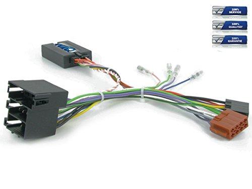 NIQ CAN-BUS Lenkradfernbedienungsadapter geeignet für XTRONS Autoradios, kompatibel mit Alfa Romeo Giulietta / Mito -