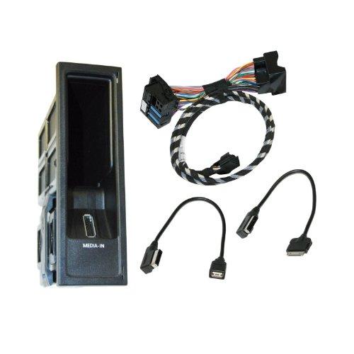 Kufatec 36219 Volkswagen MDI Multimediabuchse MEDIA - IN für iPod USB VW RCD310 RNS 510 (nur für Geräte mit Index ..A oder höher) RNS 315 RNS 310 RCD 510 (nicht für Geräte mit Index AA/ ..AB)D 310 Vw Ipod