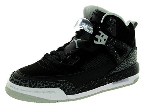 Nike Jordan Spizike Bg, Chaussures de Sport Garçon, Noir Noir / gris / blanc (noir / gris froid - brume grise - blanc)