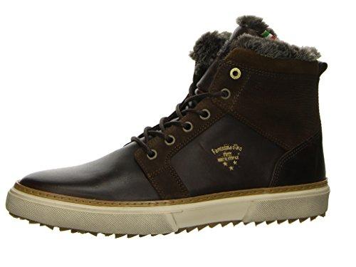 Pantofola d Oro 10173033 Herren Sneakers Dunkelbraun, EU 42