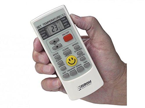 Mobile Klimaanlage Eurom Polar 7000 BTU Klimagerät Büro Wohnung Wohnwagen Camping - 3