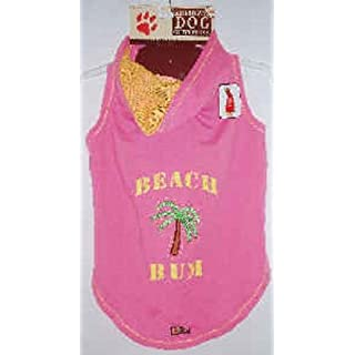 American Dog Outfitters Beach Bum Hoodie Dog Apparel XXL Pink