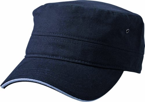 Myrtle Beach Cap Military Sandwich, black/dark-grey, one Size, MB6555 bldg
