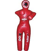 Gdm Mma Mma Grappling dummy dummy Bolsa de boxeo Lucha Judo Artes Marciales Sin relleno Vinilo 70 pulgadas