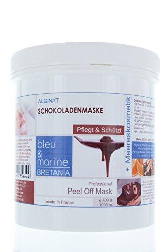 Veana bleu & marine Schokoladen und Orange Neroli Peel off Maske, 1er Pack (1 x 400 g) (Schokolade Orange Peel)