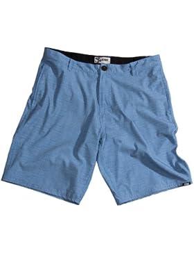 Jobe Boardshorts Impress Hybrid - Bóxer de baño para hombre, color azul, talla L