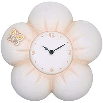Thun tulipano orologio da parete ceramica variopinto - Thun orologio da parete ...