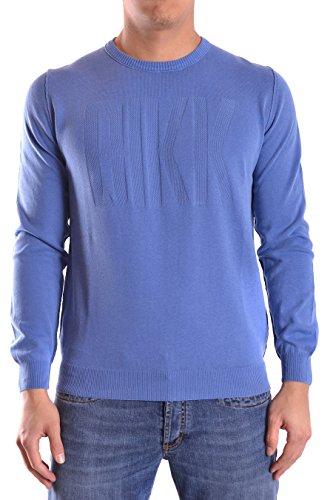 dirk-bikkembergs-maglione-uomo-cs84bfjxb037y29-cotone-blu