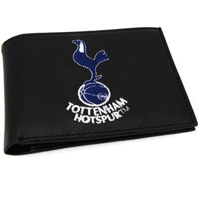 Tottenham Hotspur FC. Gestickten Kamm Leder Brieftasche (Brieftasche Gestickte)