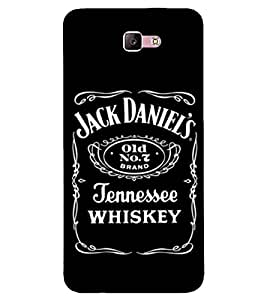 For Samsung Galaxy A3 :: Samsung Galaxy A3 (2017) Whisky, Black, JENEESSEE, Amazing Pattern, Printed Designer Back Case Cover By CHAPLOOS