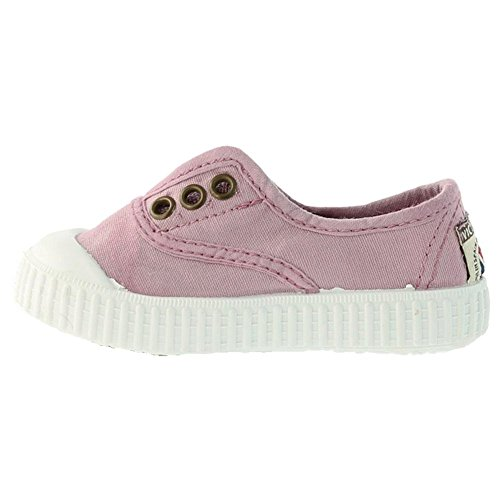 Victoria Inglesa Lona Tenida Punt, Baskets mode mixte enfant Rose
