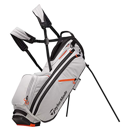 TaylorMade Flextech Sac avec Support Mixte, Silver, Taille...