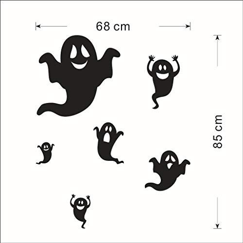 Piraten Kostüm Realistische Männer - YYRZGW Ghost Wandaufkleber Art Decal Decor für Halloween Party Haunted House Karneval Vampire Schlafzimmer Wohnzimmer Dekoration-Geist