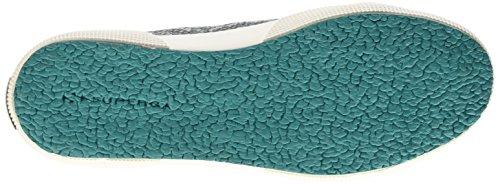Superga Damen 2750-Cotsnakew Gymnastikschuhe Mehrfarbig - Multicolore (969 Snakegreenspruce)
