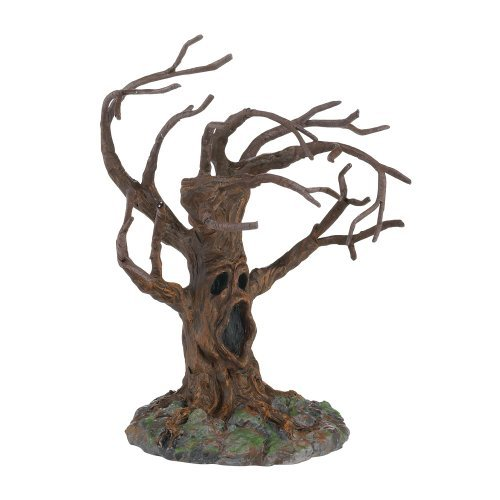 Department 56 4025411 Halloween Accessories for Dept 56 Village Collections Stormy Night Tree, 5-1/21-Inch by Department 56