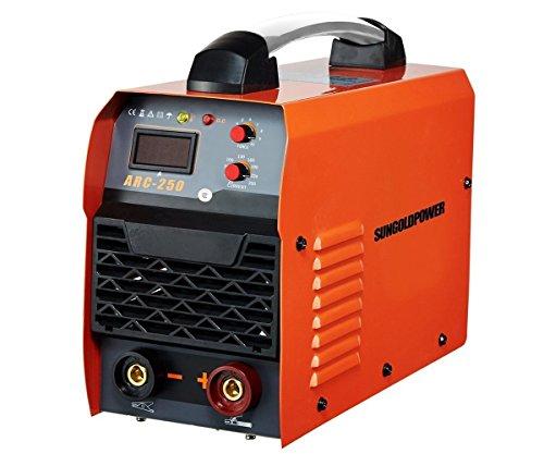 SUNGOLDPOWER 250A ARC MMA IGBT Schweißgerät DC Wechselrichter Inverter Schweißen Digital Anzeige LCD Stick 250A 230V Anti-Stick Welder Welding Schweißinverter Schweißmaschine - 3