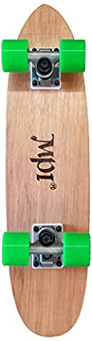 MPI Cut-Out Maple Laminate Complete Skateboard, 6.25x25