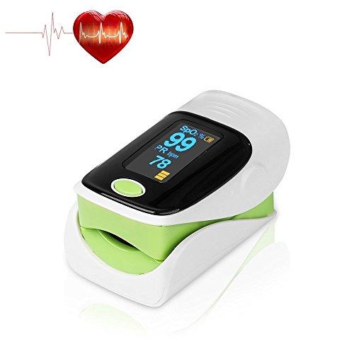 Fingertip Pulse Oximeter, Digital Blood Oxygen & Pulse Sensor Meter