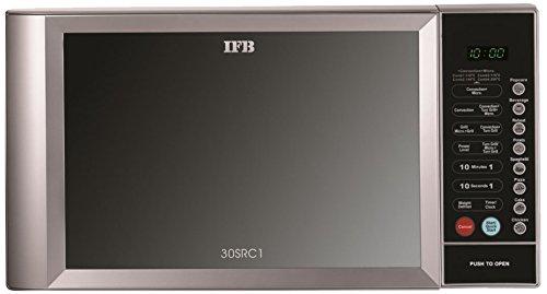 IFB 30SRC1 30-Litre 1400-Watt Rotisserie Convection Microwave Oven (Metallic Silver)