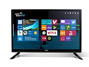 N.P.G Npg Tvs411l19h Televisor 19'' LCD LED HD Smart TV Android WiFi Hdmi USB Grabador Y Reproductor Multimedia