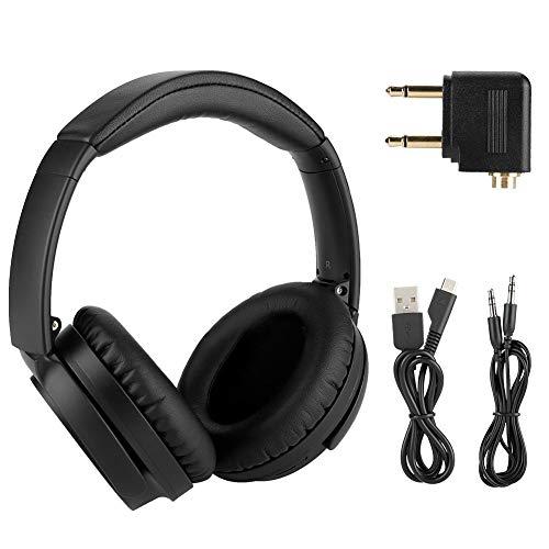 Oumij Kopfhörer Surround-Sound-Headset mit geräuschdämpfendem Mikrofon Ergonomischer Gehörschutz aus Memory-Schaum