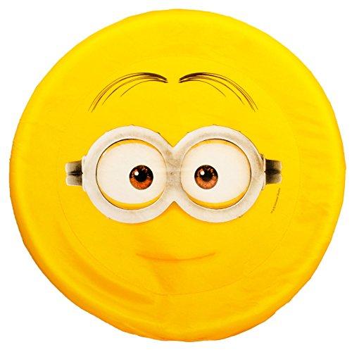 alles-meine.de GmbH 1 Stück _ große XL _ Frisbee Scheibe / Wurfscheibe -  Minions - ich einfach unverbesserlich  - Nylon Stoff - Ø 43,5 cm - Wurfdiskus / Diskus - Stoffwurfsche.. - Große Extra Frisbee