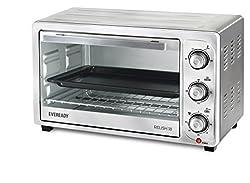 Eveready Relish 18 1300-Watt Oven Toaster Grill (Silver)