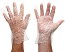 SHIELD CLEAR PE GLOVES IN BAGS L PK100