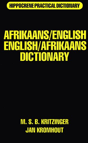 Afrikaans-English/English-Afrikaans Practical Dictionary (Hippocrene Practical Dictionary)
