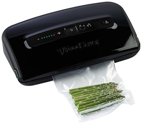 Foodsaver 2x macchina sigillatrice per sottovuoto colore nero for Amazon macchina sottovuoto