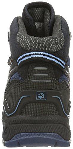 Jack Wolfskin Crosswind Wt Texapore Mid W, Chaussures de Randonnée Hautes Femme Bleu (Light Sky 1132)