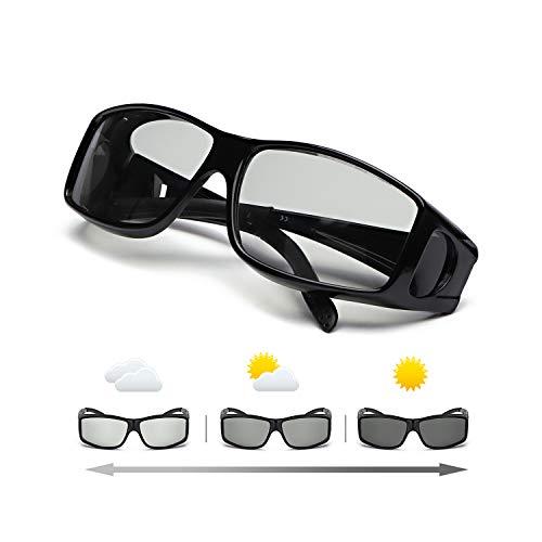 IGnaef Gafas De Sol Polarizadas Fotocromáticas Para