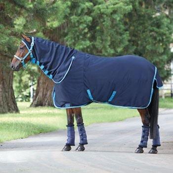 (Jersey Kühler Combo Jersey Aussen Fleece Inneren gefüttert Brust verlängertem Hals Cover NVY/BBL 2,2 m)