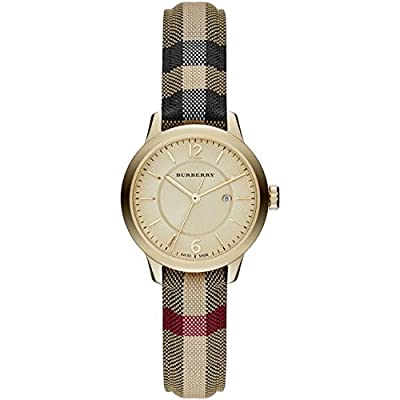 Ladies Burberry The Classic Horseferry Check Watch BU10104