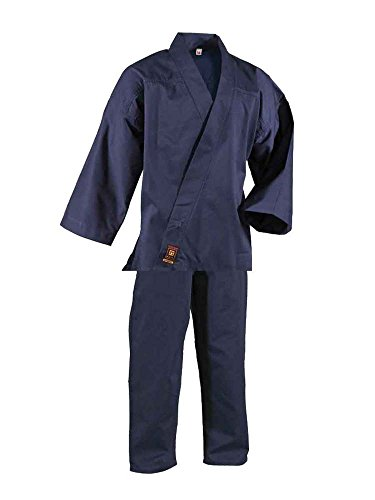 DanRho Qi Gong Anzug dunkelblau M