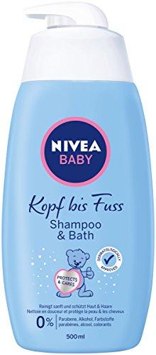 Nivea Baby Shampoo & Bath Shampoo, 2er Pack (2 x 500 ml)