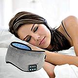- Bluetooth Augenmaske, kabellos, Smart-Sleep Maske tragbar verstellbar Entspannung Hands-Free Sleep Eye Shading Musik für Home Schlafsack auf Reisen Flugzeug