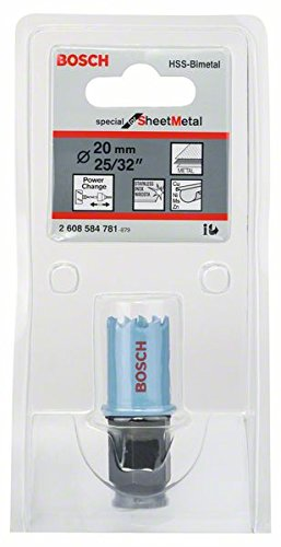 Bosch 2608584781 Scie cloche tôle 20 mm (0,78125\