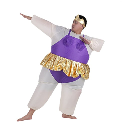 Imagen de disfraces inflatable de bailarina costume suit adulto inflables disfraces hinchaple traje fantasia para fiesta halloween cosplay