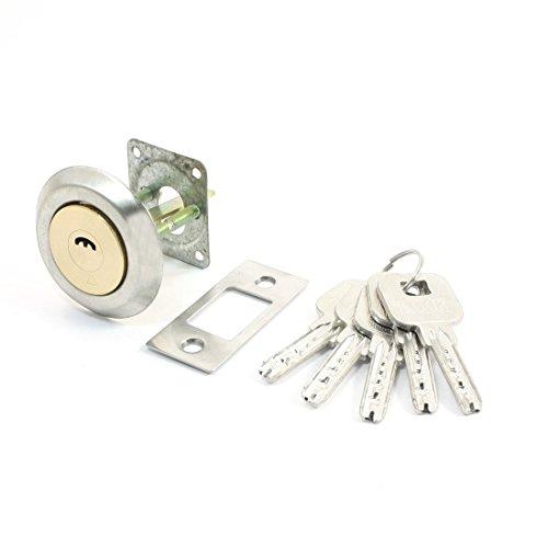 Home Office Silber Gold-Ton-Sicherheitsschließzylinder mit 5 Metalltasten