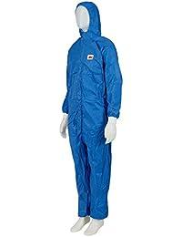 3M 4532+B3X Schutzanzug, Typ 5/6, Größe 3XL, Blau mit HellBlauem Rückenpanel
